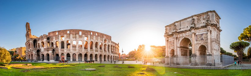 Colosseum Italy camping
